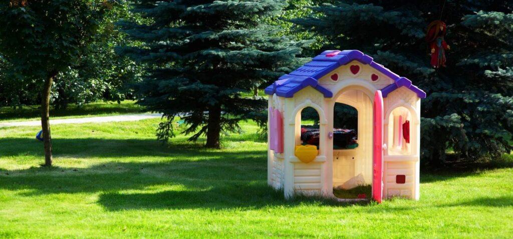 Casas de plastico para niños jardin
