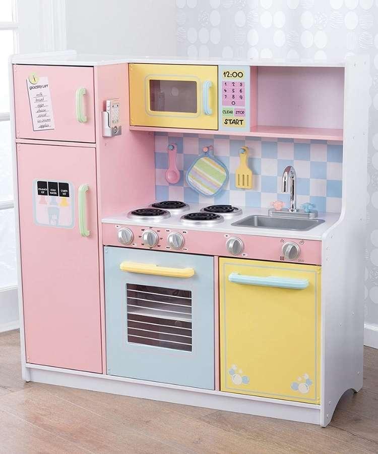 Cocina-kidkraft-colores-pastel