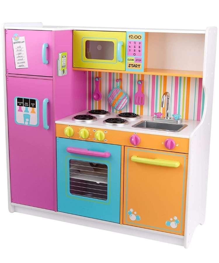 Cocina-madera-kidkraft-colores