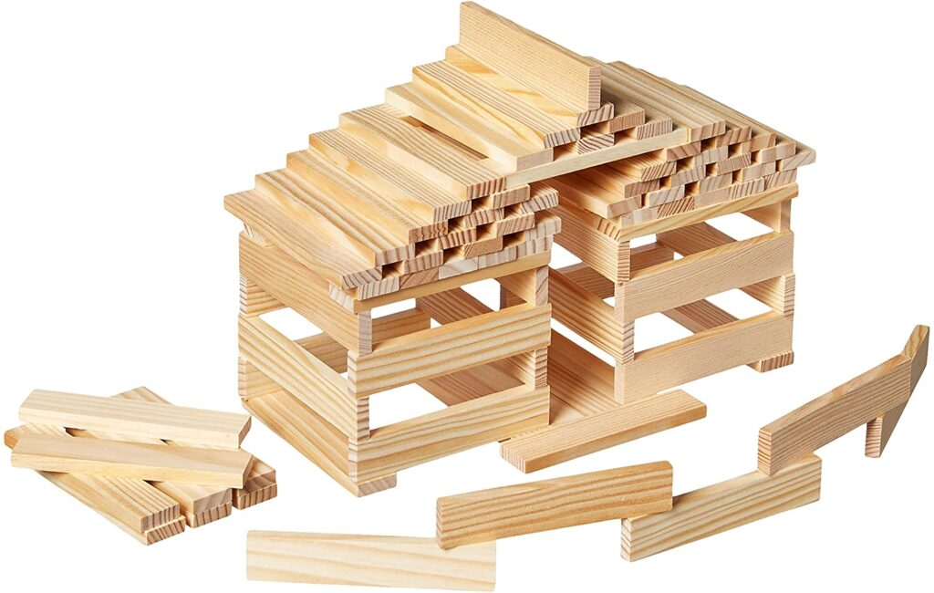 kapla ladrillos de construccion casa