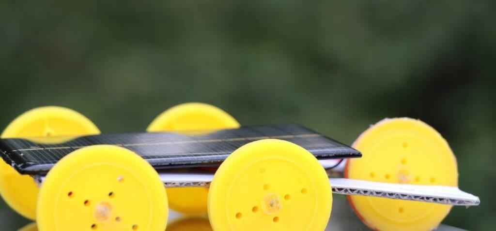 Energia solar juguetes