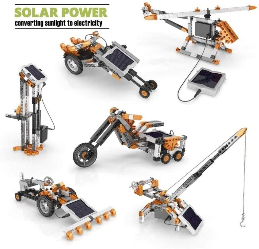 Juguete energia solar Engino