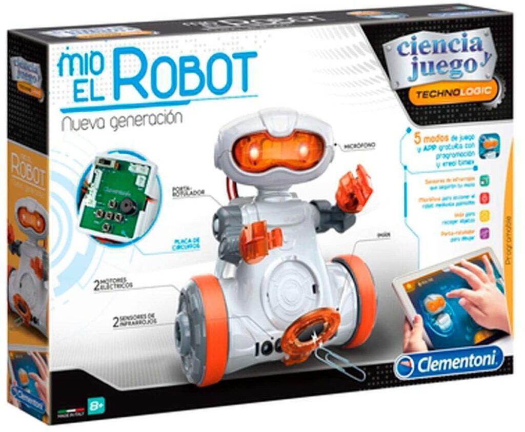 mio el robot clementoni