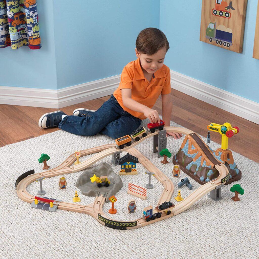 tren madera kidkraft