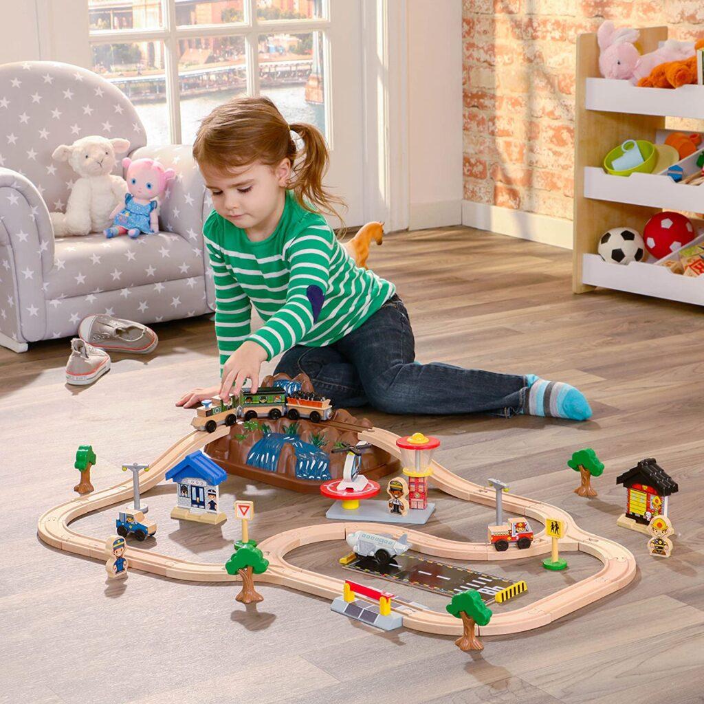 tren via niños kidkraft