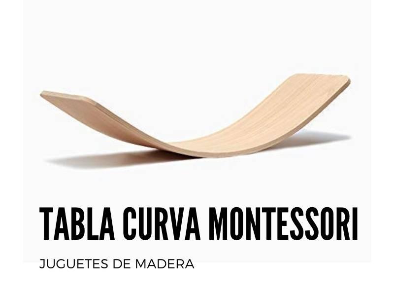 Balancin de madera montessori